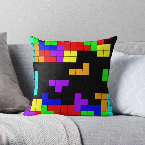 Tetris Making Tetris Fall Throw Pillow