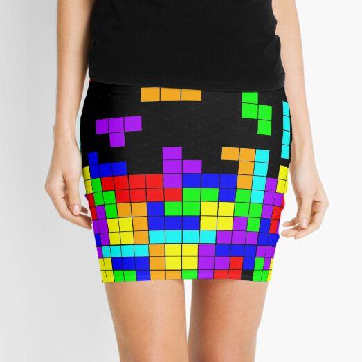 Tetris Making Tetris Fall Mini Skirt