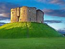 Clifford's Tower, York, England by GrahamCSmith