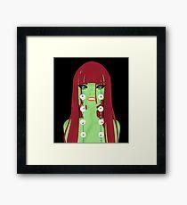 Eyeless Framed Print