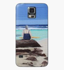 """""""Reminisence"""" Textile art quilt Case/Skin for Samsung Galaxy"""