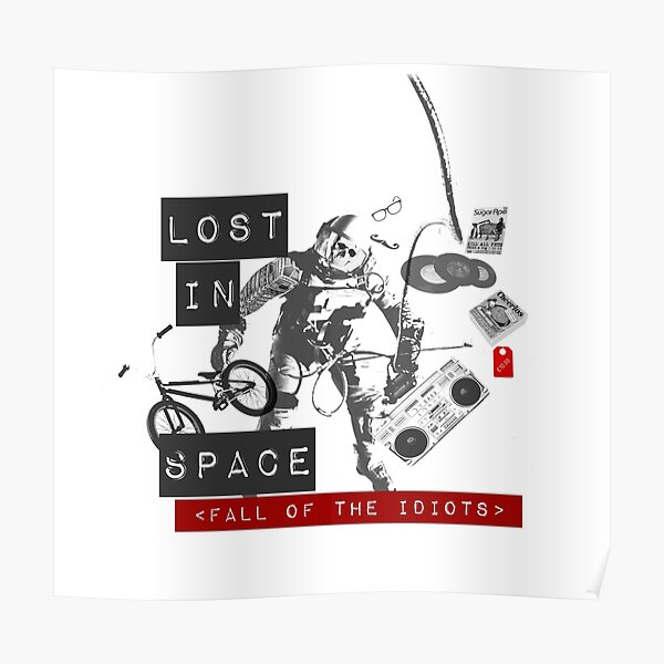 Fall of the idiots Poster