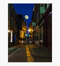 The Shambles at night, York, England Photographic Print