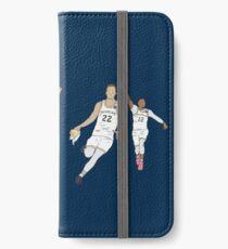 Michigan Game Winner Celebration Original iPhone Wallet/Case/Skin