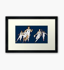 Michigan Game Winner Celebration Original Framed Print