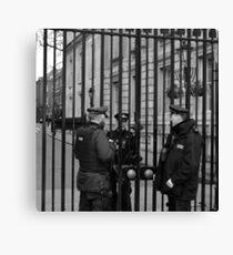 London Cops Canvas Print