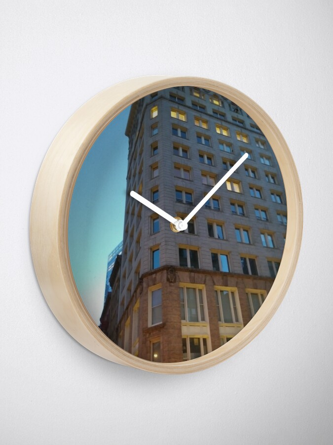 Alternate view of High-rise building, tower block Clock