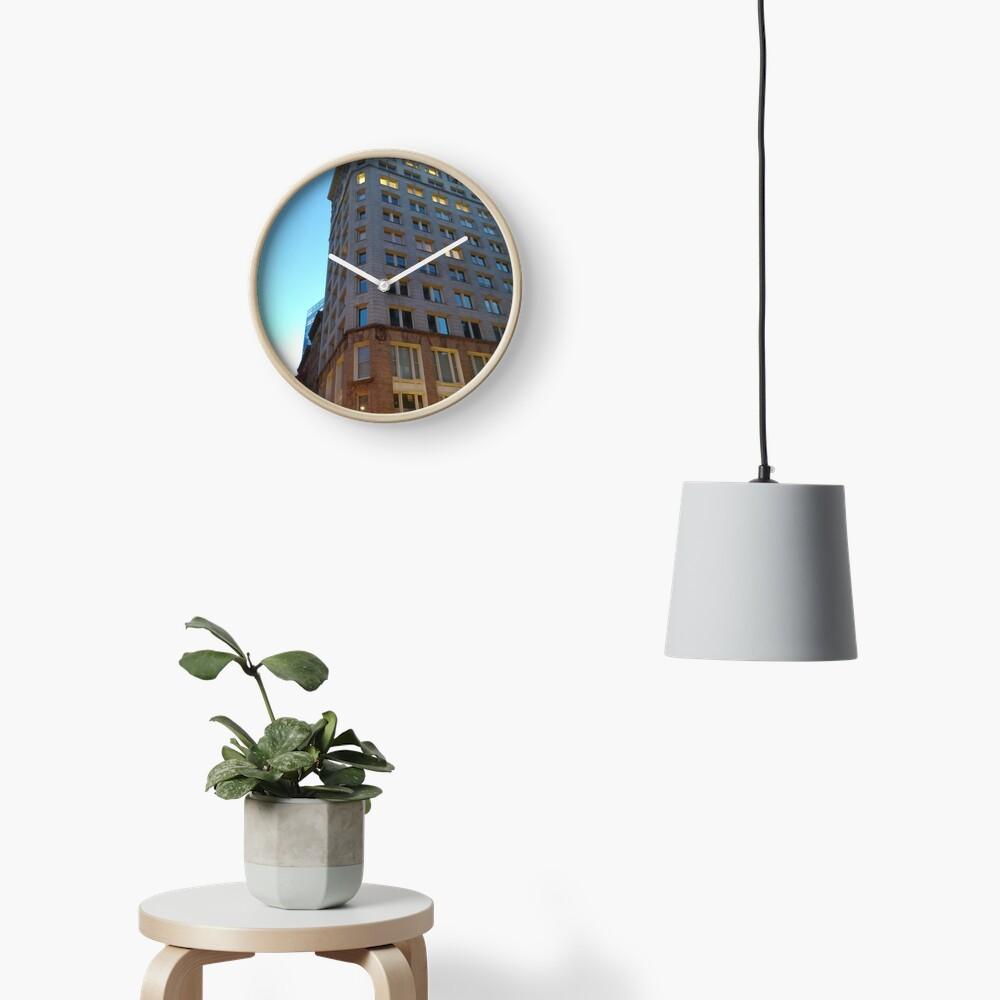 High-rise building, tower block Clock