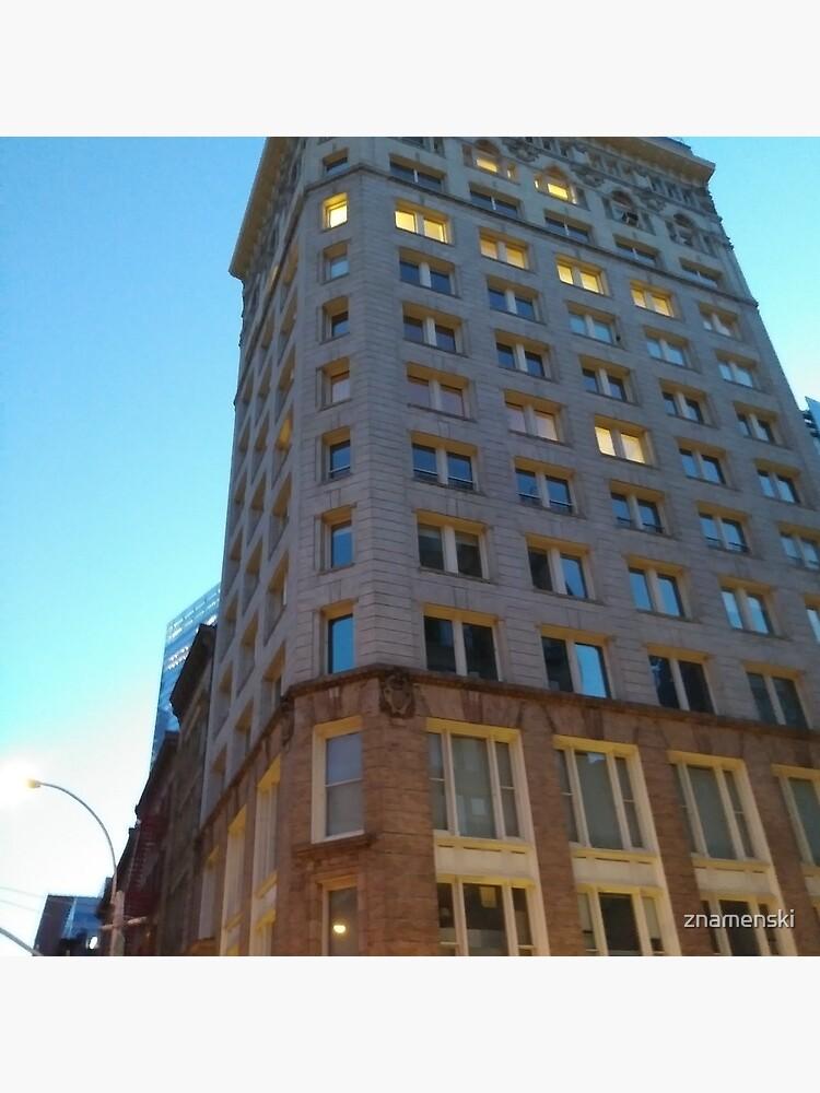 High-rise building, tower block by znamenski