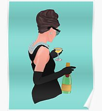 Holly Golightly - Champagner bei Tiffany's Poster