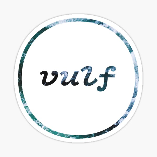 Vulfpeck Ocean logo Sticker
