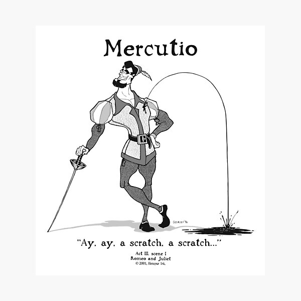 MERCUTIO Photographic Print