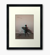 Sandy Cartridge Framed Print