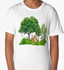 It's Easter Time Mr. Bunny Long T-Shirt