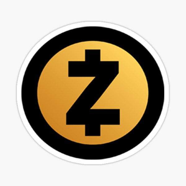 Zcash Cryptocurrency Sticker