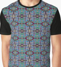 Overshot Pattern Graphic T-Shirt