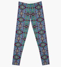 Overshot Pattern Leggings