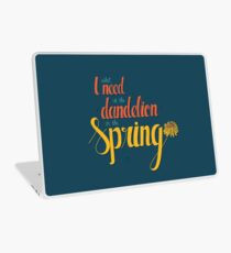 Dandelion in the spring Laptop Skin