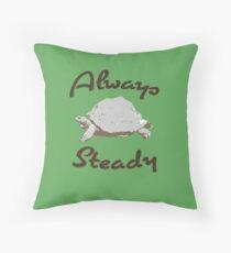 Immer Steady - Schildkröte Dekokissen