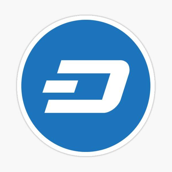 Dash Cryptocurrency Sticker