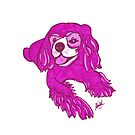 King Charles Cavalier Spaniel by Shiloh Moore