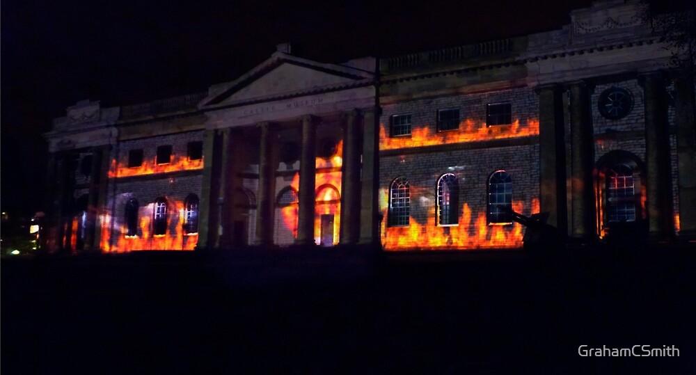 Blazing York illuminations by GrahamCSmith