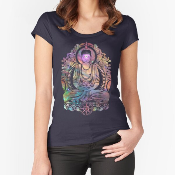 Cosmic Bodhi Fitted Scoop T-Shirt