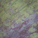 Mossy Purple by Rebekah  McLeod