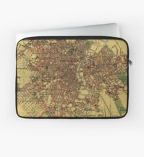 Vintage Map of Sao Palo Brazil (1913) Laptop Sleeve