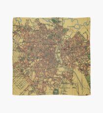 Vintage Map of Sao Palo Brazil (1913) Scarf