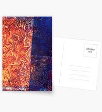 runic engraving Postcards