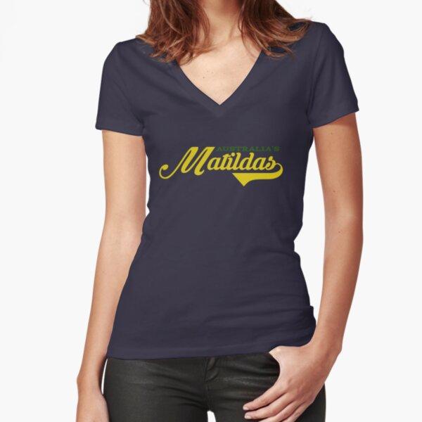 Matildas Fitted V-Neck T-Shirt