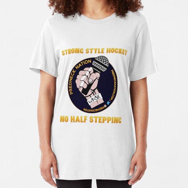 Predneck Nation No Half Stepping T-Shirt Slim Fit T-Shirt