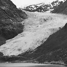 Glacier mountain side by zumi