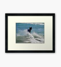 Parting The Sea Framed Print