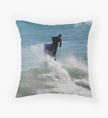 Parting The Sea Throw Pillow