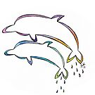 Dolphins - Play Together, Swim Together, Grow Together by Shiloh Moore