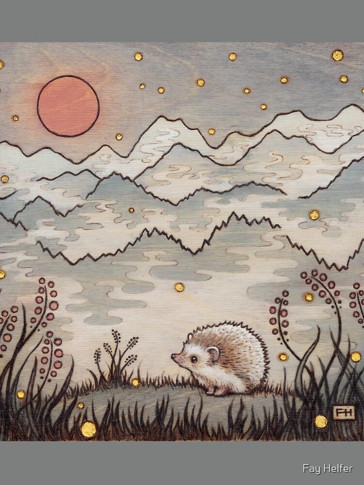 Hedgehog in the Fog by FayHelfer