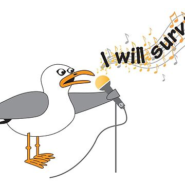 I Will Survive T-shirt by JakkiOakes