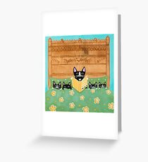 Mother's Bedtime Story Greeting Card