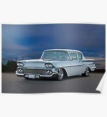 1958 Chevrolet Biscayne Poster