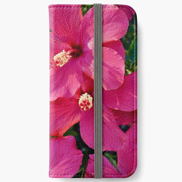 Hibiscus Flowers iPhone Wallet