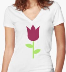 Tulip Women's Fitted V-Neck T-Shirt