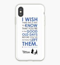 The Office Finale -- Andy iPhone Case
