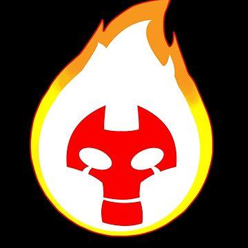 10 ben Heatblast hot T-Shirt by nicitadesigns