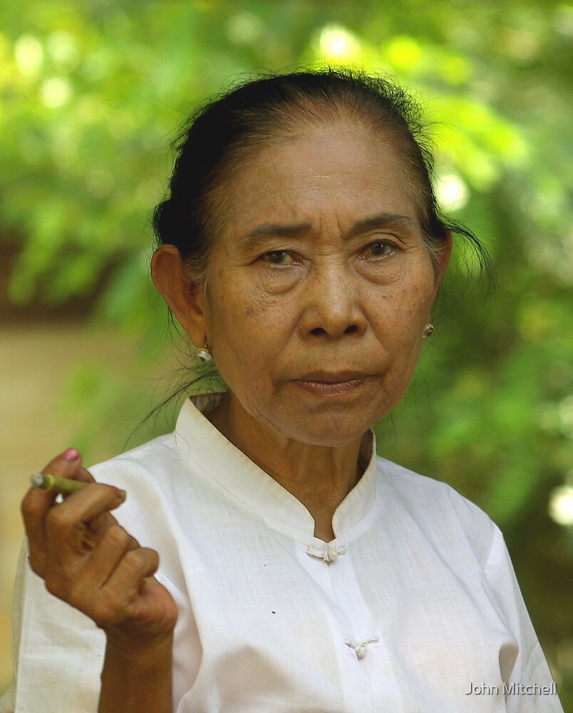 The Cigar Lady of the Irrawaddy River by John Mitchell