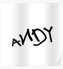 Andy - Toy Story Poster