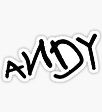 Andy - Toy Story Sticker