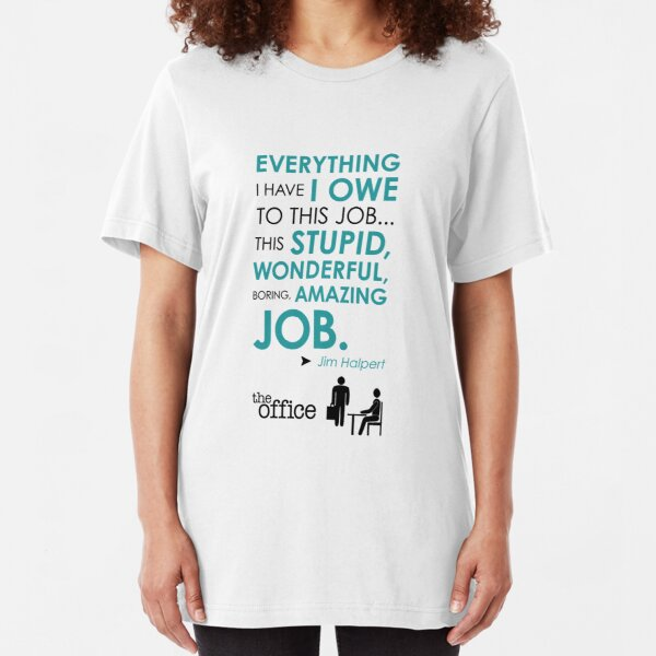 The Office Finale -- Jim Slim Fit T-Shirt