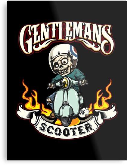 gentlemans scooter skull racing skull design human skull sugar